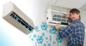 Sửa máy lạnh khu công nghiệp Mỹ Xuân