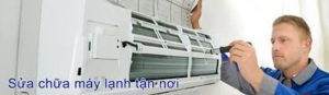 Sửa máy lạnh khu công nghiệp Phú Mỹ